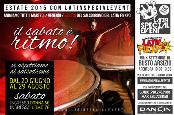 SABATO LATINFIEXPO by LATINSPECIALEVENT