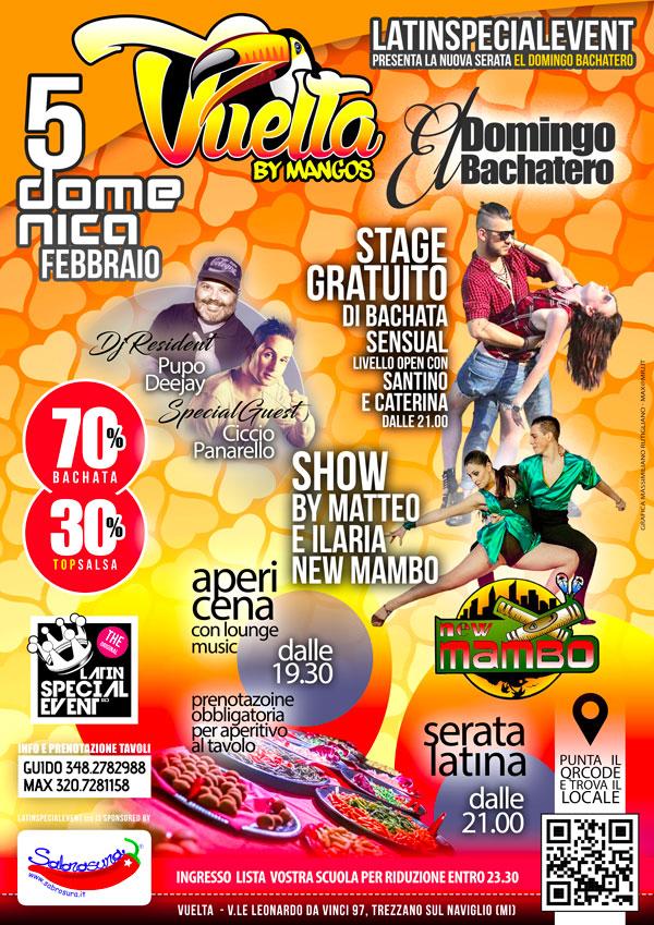 05 FEB, DOMENICA 'EL DOMINGO BACHATERO' VUELTA